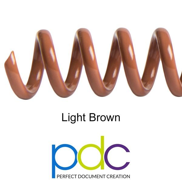 LIGHT-BROWN-PVC-SPIRAL-COIL-PLASTIKOIL