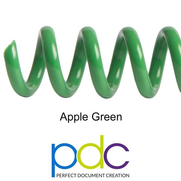 APPLE-GREEN-PVC-SPIRAL-COIL-PLASTIKOIL